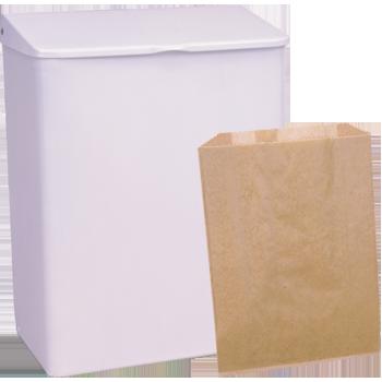 Sanitary Napkin Receptacle & Liners