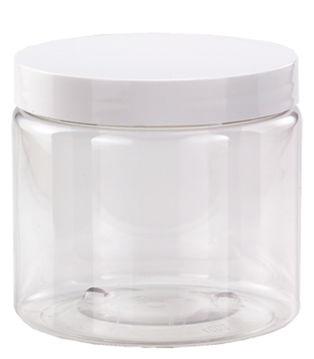 16 oz. Clear Jar with Lid
