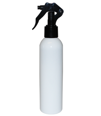 Black Micro Sprayer with White Bullet Bottle